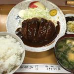 大富士 - ハンバーグ定食