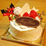 お菓子のアトリエ アルチザン  - 料理写真:クリスマスケーキ 4号