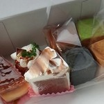 グーテテ - キューブシュー4種類★とシフォンケーキ★ニューヨークチーズケーキ★