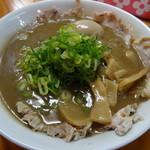 33854605 - 天骨麺(肉増し・玉子)1000円