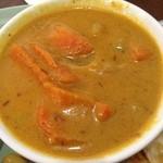 サバ - 野菜カレー