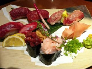 菅乃屋 銀座通り店 - 極上寿司盛り合わせ