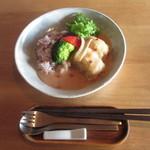 カフェ エクボ - ロール白菜と十五穀米のプレート
