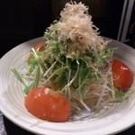 北勝 - 水菜と大根のサラダ