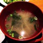 夢のつづき - 夢のつづき @日本橋兜町 若布の大根の味噌汁