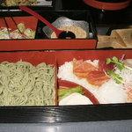 直志庵 さがの - 蕎麦と海鮮丼のセット1280円