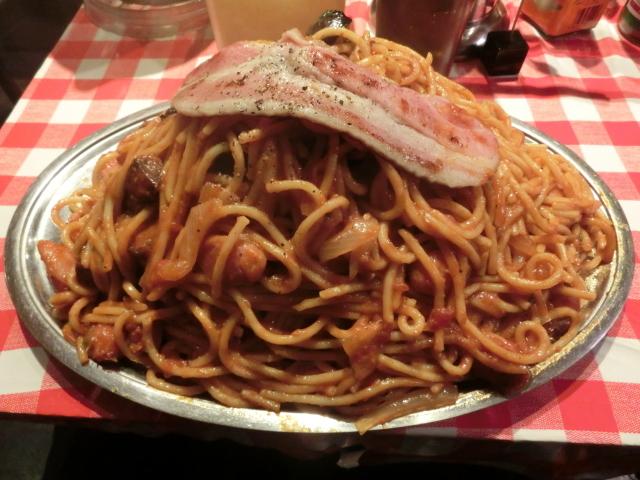 スパゲッティーのパンチョ 新橋店 - カレーナポ星人\1650+差額\50分の食券(別格期間中の値段)+ベーコン\200