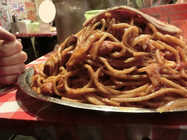 スパゲッティーのパンチョ 新橋店 - 盛り