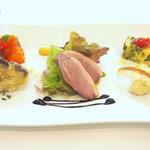 リストランテ ウミリア - 前菜盛り合わせ