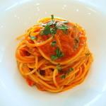 リストランテ ウミリア - 渡り蟹のトマトソース スパゲッティーニ 90g