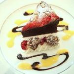 リストランテ ウミリア - チョコレートブラウニー