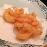 天ぷら新宿つな八 - 昼定食/かき揚げ