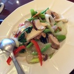 南国酒家 - 野菜炒め