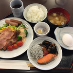 横浜マンダリンホテル - 4日目の朝食。