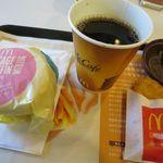 マクドナルド - 料理写真:ソーセージエッグマフィンセット453円