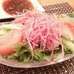 ステーキハウス みなみ - サラダ
