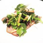 sel tokyo - 牛タンのスモークサラダ