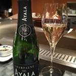 33869905 - お誕生日のシャンパン AYALAハーフボトル 普段飲まない家内が美味しいと言ってました。 Good!