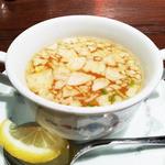 ワヤン バリ - セットのスープ
