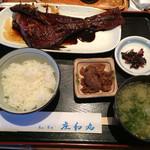 庄和丸 - 煮魚定食!(金目鯛の煮付け) 注意):  魚は日替りなのでしょうか…いつもある定食ではないようです。