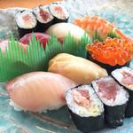 回転寿司てんぐれい - 上寿司B 1500円
