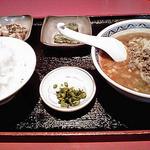 楓林 - 料理写真:担々麺定食