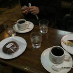 フランソア喫茶室 - コーヒー、マカロン、レモンタルト