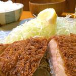 とんかつ 仙川 - ロースかつ定食