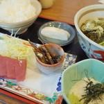 一朗 - おさかな定食(まぐろ&とろろ)