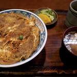 更科 京屋 - かつ丼