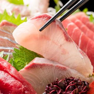 宮城県産新鮮魚介の数々をご提供♪