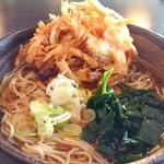 ゆで太郎 - かき揚げ蕎麦