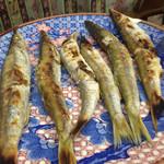 ゆきや荘 - かます美味!こんなかます食べた事無い!美味しー♡♡♡見た目も久美子が秋刀魚と一瞬間違うくらい!脂のってて