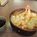 味のいち藤 - 天ぷらうーめん・温(1100円)
