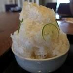 いなえ - 和三盆すだちかき氷