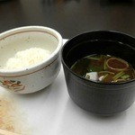 佐原 千与福 - ご飯・味噌汁