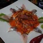 福浦漁港 みなと食堂 - 海鮮丼 2,000円
