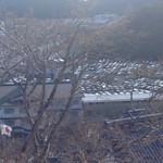 ゆきや荘 - わかります?この駐車場の車の多さ、阿波踊りの時期の徳島並です!
