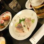 季節料理 ふる川 - 刺身は新鮮系です