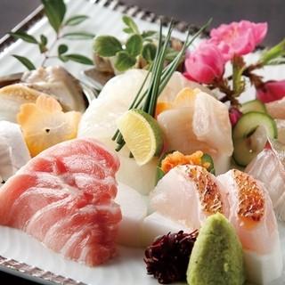 新鮮で旬な魚を使用!旨い魚が揃っています!