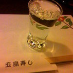 五島寿し - ハイ、日本酒。