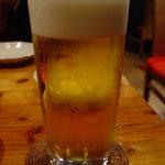 上海ブラッセリー - 生ビール 550円☆