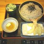 どんきゅう - 料理写真:天ざるセット680円これからの季節にピッタリ!