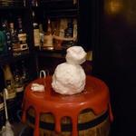 Bar Agit - お店のヒトが作った雪だるま☆♪ カクテルは上手なんだけど・・・