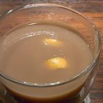 Bar Agit - ブランデーとチョコレートのホットカクテル☆♪