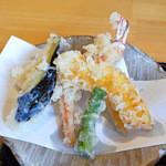 蕎麦ふるかわ - 天ぷら盛り合わせ