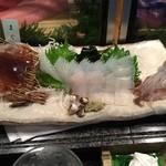 みなと寿司 - イカ刺し