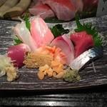 みなと寿司 - 刺し盛り
