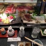 みなと寿司 - おさしみ・・・・
