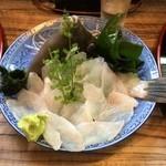 みなと寿司 - カワハギの肝醤油